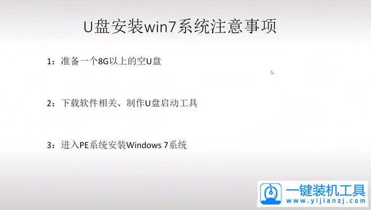 如何用U盘重装Windows7系统--视频教程