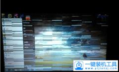 电脑屏幕出现条纹怎么办  电脑屏幕出现条纹解决方法
