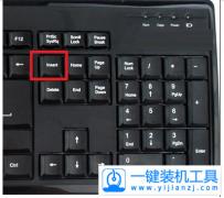 电脑机械键盘insert键在哪